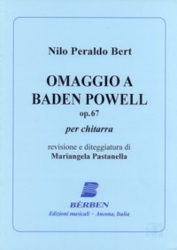 Omaggio a Baden Powell op.67 available at Guitar Notes.