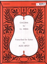 Ciacona(Artzt) available at Guitar Notes.