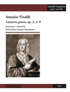 Concerto Grosso,op.3/8(Chandonnet) [7gtr] available at Guitar Notes.