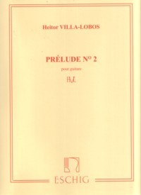 Prelude no.2 in E available at Guitar Notes.