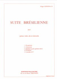 Suite bresilienne: no.3: Samba 1 & 2 available at Guitar Notes.