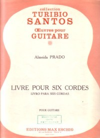 Livre pour Six Cordes(Santos) available at Guitar Notes.