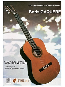 Tango del Vertigo [Gtr & Stg Quintet) available at Guitar Notes.