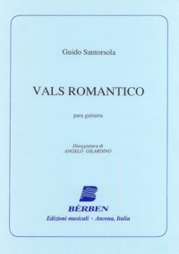 Vals Romantico available at Guitar Notes.