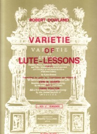 Varietie of Lute Lessons, Vol.2 Almaines available at Guitar Notes.