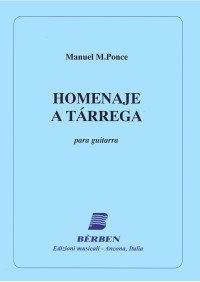 Homenaje a Tarrega available at Guitar Notes.