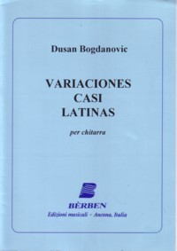 Variaciones Casi Latinas available at Guitar Notes.