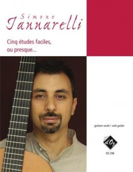 Cinq etudes faciles, ou presque... available at Guitar Notes.