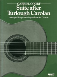 Suite after Turlough Carolan available at Guitar Notes.