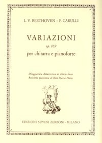 Variazioni, op.169 (after Beethoven) available at Guitar Notes.