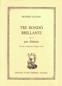 Tre Rondo Brillanti, op.2(Chiesa) available at Guitar Notes.