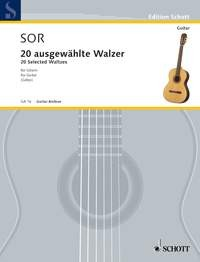 20 Selected Waltzes(Gotze) available at Guitar Notes.