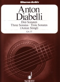 3 Sonatas(Stingl) available at Guitar Notes.