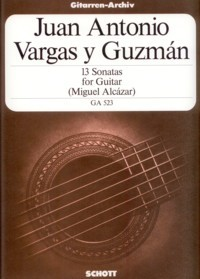 13 Sonatas(Alcazar) available at Guitar Notes.