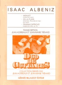 Menuet, En la Playa etc.(Horreaux/Trehard) available at Guitar Notes.