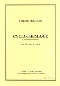 Cyclothemique [Fl/Va/Gtr] available at Guitar Notes.
