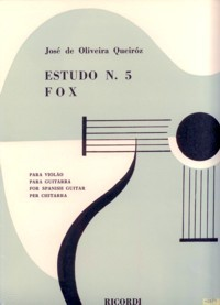 Estudo no.5; Fox available at Guitar Notes.