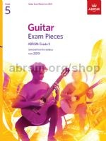 ABRSM Exam Pieces Grade 5 (2019) available at Guitar Notes.