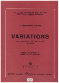 Variations (Gilardino) available at Guitar Notes.