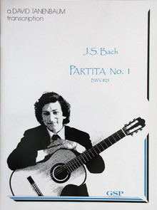 Partita no.1 BWV825(Tanenbaum) available at Guitar Notes.