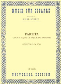 Partita in C (Scheit) available at Guitar Notes.