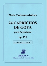 24 Caprichos de Goya op.195 Vol.4 available at Guitar Notes.