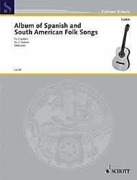 Spanish & South American  Folksongs available at Guitar Notes.