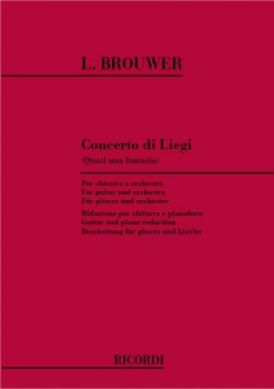 Concerto di Liegi (quasi una fantasia) [score] available at Guitar Notes.