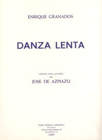 Danza lenta available at Guitar Notes.
