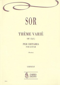Theme variee,op.15c(Martino) available at Guitar Notes.