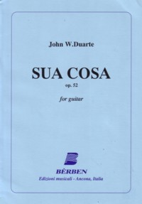 Sua Cosa, op.52 available at Guitar Notes.
