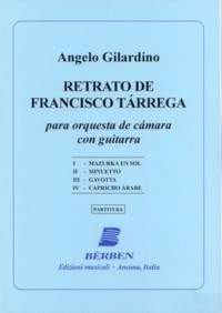 Retrato de Francisco Tarrega [2004] available at Guitar Notes.