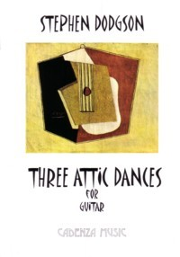 Three Attic Dances available at Guitar Notes.