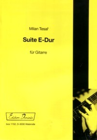 Suite in E available at Guitar Notes.