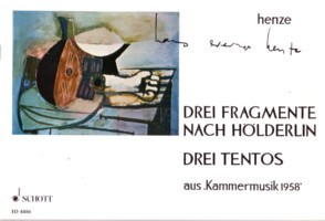 Drei Tentos; Drei Fragmente nach Holderlin available at Guitar Notes.