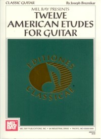 Twelve American Etudes available at Guitar Notes.