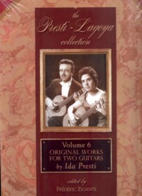 Presti-Lagoya Collection: Vol.6 Ida Presti Original Works available at Guitar Notes.