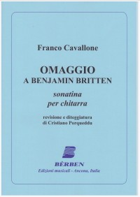 Omaggio a Benjamin Britten available at Guitar Notes.