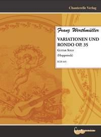 Variationen u.Rondo op.35 available at Guitar Notes.