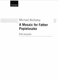 A Mosaic for Father Popieluszko [vn & gtr] available at Guitar Notes.