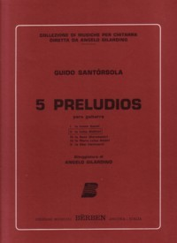Preludio no.5 available at Guitar Notes.