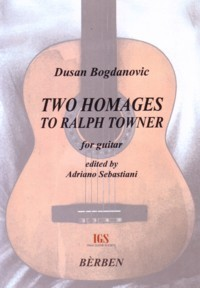 Two Homages to Ralph Towner available at Guitar Notes.