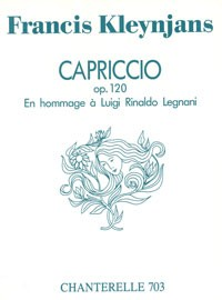 Capriccio en Hommage a Legnani, op.120 available at Guitar Notes.