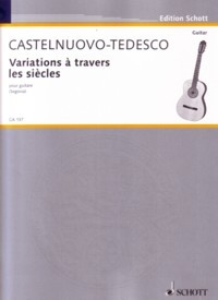 Variations a travers les siecles, op.71 available at Guitar Notes.