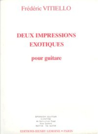 Deux Impressions exotiques available at Guitar Notes.