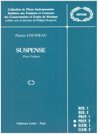 Suspense available at Guitar Notes.