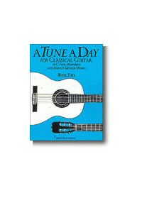 A Tune a Day for Classical Guitar, Book 2 available at Guitar Notes.