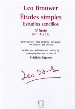 Etudes simples Series 3(Zigante) available at Guitar Notes.