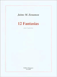 12 Fantasias available at Guitar Notes.