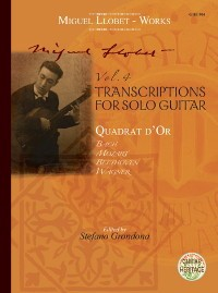 Guitar Works Vol.4 (Grondona) Transcriptions 1 available at Guitar Notes.